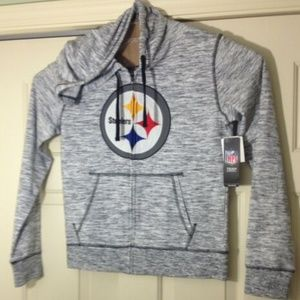 Pittsburgh Steelers NFL Hoodie Jacket Full Zip